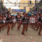 Zona Tigo en el carnaval de Oruro