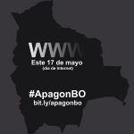 Bolivia SMS participar del apagn Bolivia