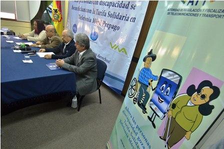 tarifa solidaria movil discapacitados bolivia att